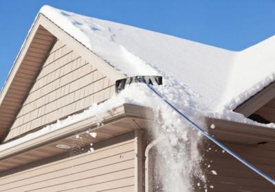 Уход за крышей зимой, подготовка кровли к зименему периоду
